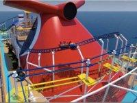 Carnival Cruise Line, gemiye Rollercoaster yerleştirdi