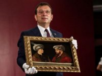 Fatih Sultan Mehmet'in tablosu ilk kez gösterildi