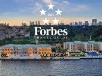 """Forbes Travel Guide'dan Çırağan Sarayı'na """"Beş Yıldız''"""