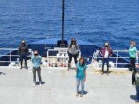 Tamamı kadınlardan oluşan ilk bilim ekibi ile denize açıldı
