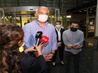 Bakan Ersoy: Başkan Böcek'in sağlık durumudüzeliyor