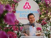 Bodrum'un tanıtım sloganı ''Begonvil Kenti Bodrum''