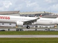 SWISS ilk filosuna ilk A321neo'yu kattı