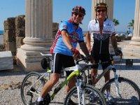 Pedalla 3 bin yıl öncesi sokaklarında tarihe yolculuk