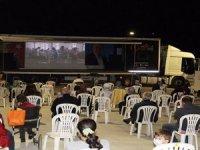 'Babam' filmi ile Korkuteli'de sinema şöleni yaşandı