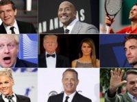 Listeye Trump çifti eklendi. Koronaviusüne yakalanan ünlüler...