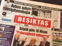 'Gazete Beşiktaş'' 21'inci yılını doldurdu
