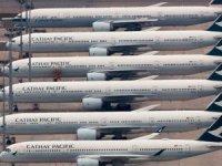 Koronavirüs Cathay Pacific havayolu şirketini de vurdu