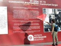 Antalya'da 97. Cumhuriyet Bayramı coşkusu başladı