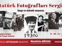 Atatürk'ün 100 fotoğrafı sergilenecek