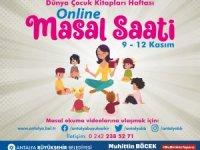 Dünya Çocuk Kitapları Haftası'nda çocuklara online masal