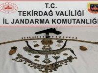 Tekirdağ'da tarihi eser kaçakçılığı operasyonu