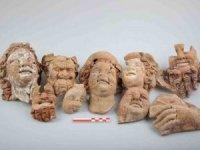 Ordu Kurul Kalesi'nde 2.100 yıllık büst ve masklar bulundu