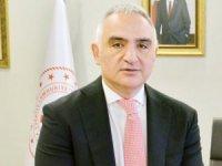 Bakan Ersoy: 2021 yılında hedef 30 milyon turist