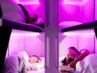 Lufthansa'da ekonomi sınıfına yataklı bölüm geliyor