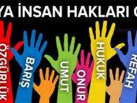 10 Aralık Dünya İnsan Hakları Günü'nü kutluyoruz