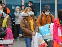 Erciyes Kayak Merkezi'ne sezonun ilk turist kafilesi geldi
