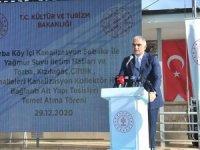 Bakan Ersoy'dan Bodrum turizmi içinaltyapı desteği