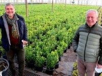 Turizmciler, Nebil Çelebi ve Emin Çakmak tarıma başladı