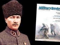 Amerikan dergiden Atatürk'e övgü: Parlak zekâ, güçlü irade