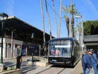 Antalya'da elektrikli otobüsler test sürüşüne başladı