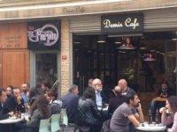 Beyoğlu'ndaki yılların işletmesi Demir Kafe, krize dayanamadı