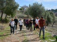 Tarihi İpek Yolu trekking etabı çalışması tamamlandı
