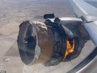 Motoru alevler içinde kalan uçak kazasında mucize yaşandı
