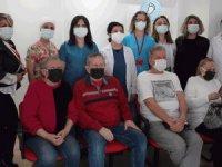 Antalya'da yerleşik yabancılara Kovid-19 aşı uygulaması başladı