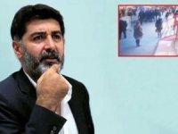 Gazeteci Levent Gültekin'in saldırıya uğradığı anlar ortaya çıktı