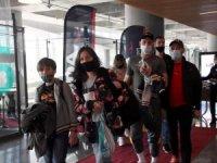 Sezonun ilk Rus turist uçağı Türkiye'ye indi