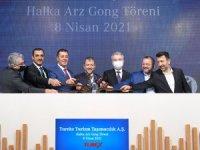 Tureks Turizm Gong Töreni:772 bin 538 yatırımcıdan talep geldi