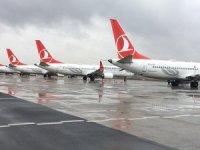 THY'de 'B737 MAX' ile iki yıl sonra ilk uçuş Ankara'ya