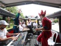 Mobil Ramazan konseri Antalyalılara moral oldu