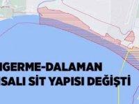 Sarıgerme-Dalaman Sahili Sit yapısı değişti