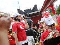 Antalya' da 19 Mayıs Bayramı coşkusu başladı
