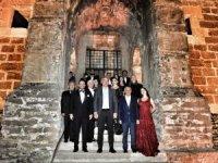 Bakan Ersoy, Aspendos konserinde yabancı temsilcileri ağırladı