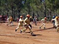 Muğla'daalev savaşçıları yangınlara hazırlandı