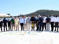 Fethiye'de Dünya Çevre Günü'nde deniz temizliği yapıldı