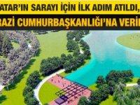 Erdoğan'ın hediyesi Tatar'ın sarayı için ilk adım atıldı