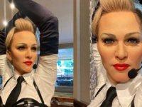 Madonna'nın balmumu heykeli Grand Hyatt İstanbul'da!