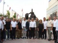 2021 UNESCO Hacı Bektaş Veli Yılı'nda hünkarın heykeli açıldı