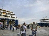 Yunanistan'da ada feribotlarına Delta varyantı kısıtlaması