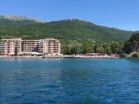 Ohri Gölü kıyıları otel ve beton yapıların işgali altında