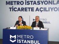 Metro istasyonlarında ticari alanlar ihaleye açıldı