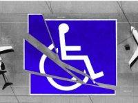 Uçaklarda engellilerin tekerlekli sandalyesine yer isteniyor