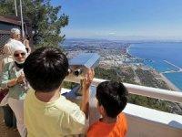 Antalya'nın seyir terası Tünektepe açıldı