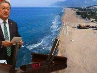 CHP'li Aydın Özer; Patara'nın kumu Okluk Koyu'na mı gitti?