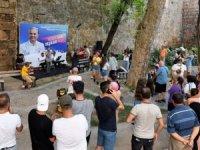 Antalyalılar Üç Kapılar'da müzikle coştu