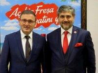 Emin Çakmak: GTSO Başkanı'na Türsab projelerini anlattı
